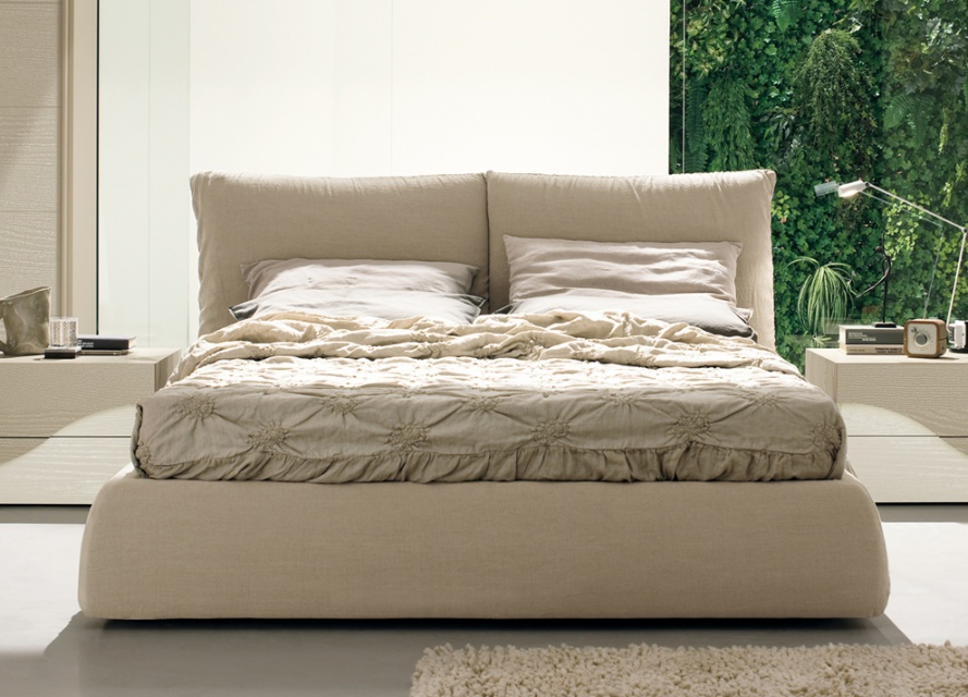 Apollo Upholstered Bed Double Beds Go Modern Furniture Findmefurniture
