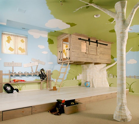 Incredibly Imaginative and Creative Kids Bedroom_image