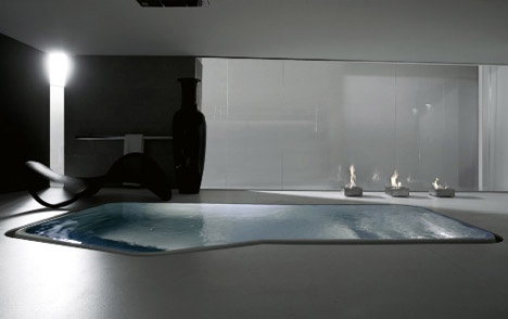 Large Luxury Bathtub or Small Interior Swimming Pool?_image