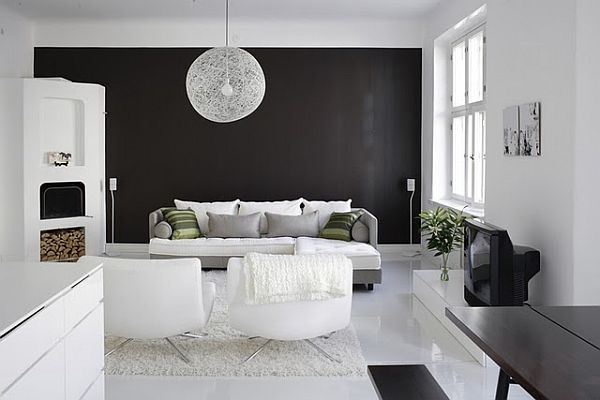 Black and White Interior Design Inspiration_image