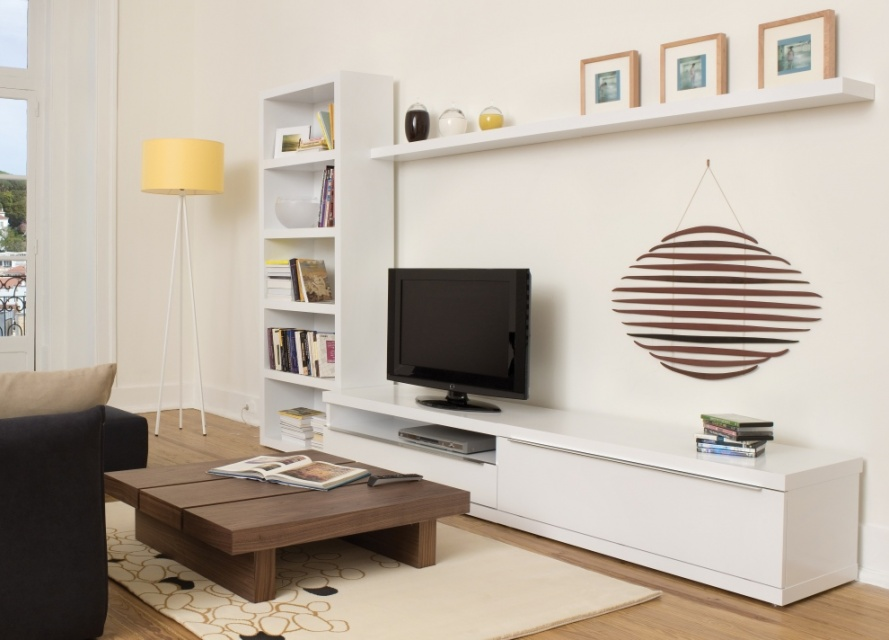 Valley Tv Unit With Shelving Tv Tables Go Modern
