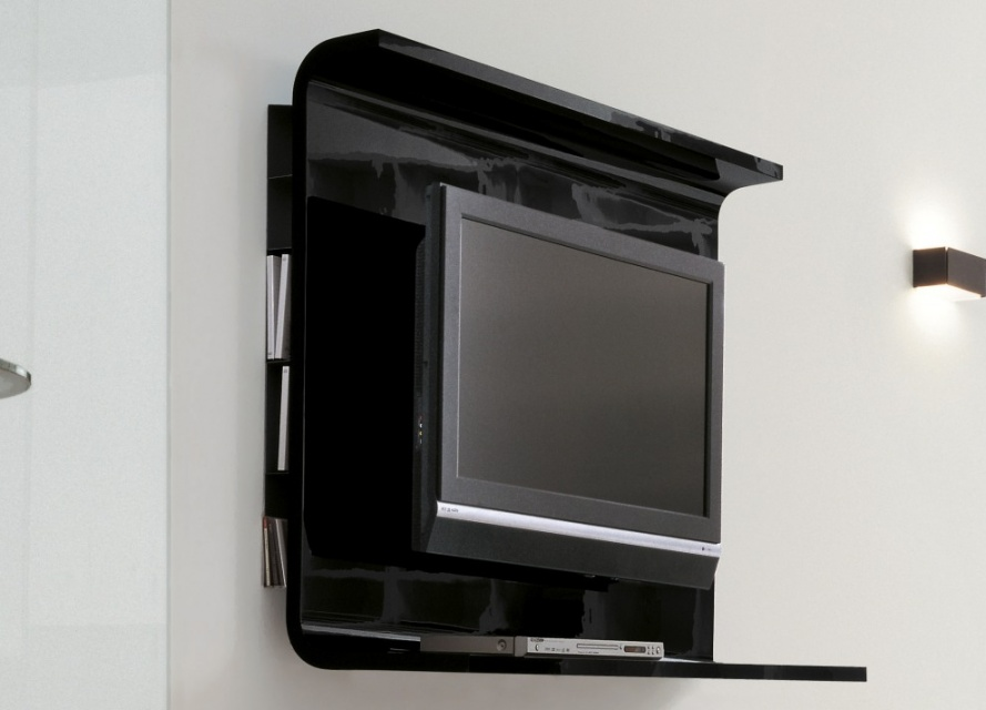 Glass Wall Unit With Porta Tv Unit Wall Storage Systems