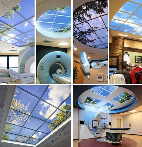 Faux-Natural Windows & Fake-Sky Ceilings_image