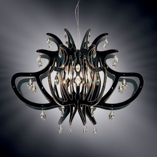 Magical Chandeliers and Lamps made by Slamp_image