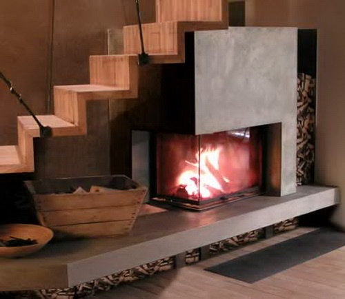 Modern Fireplace Design Ideas _image