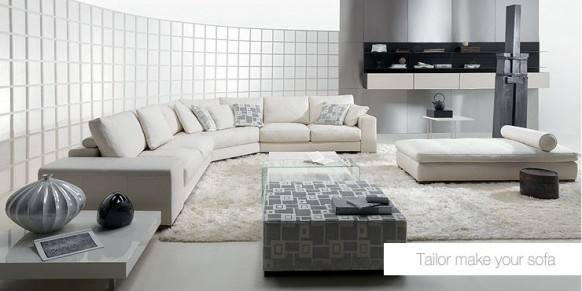 Living Room Sofa Furniture from Natuzzi_image