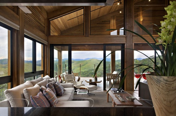 Dream Home Design with Amazing Green Surrounding_image