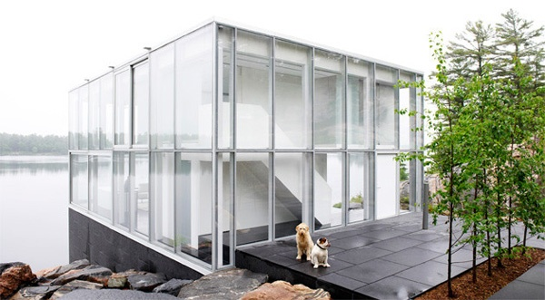 Glass House on the Lake_image