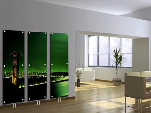 Contemporary Art Glass Radiators_image