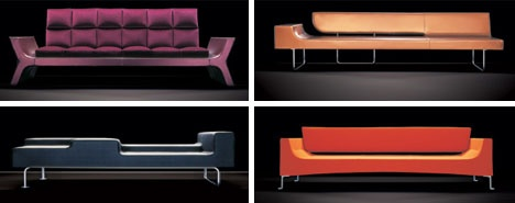 Contemporary Rocking Lounger, Couch & Chair Collection_image