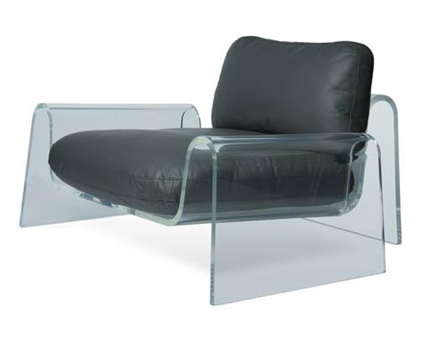 Almost Invisible Spider Lounge Chair by Giancarlo Vegni_image