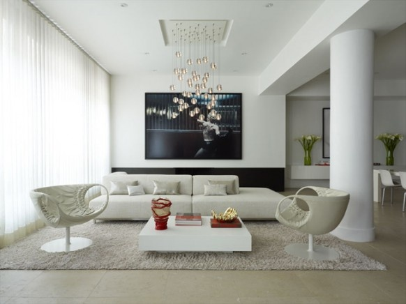 Super Stylish Interior Design for a Flat_image