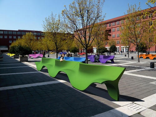 Fusillo Is a Public Bench for One, Unless It Isn't!_image