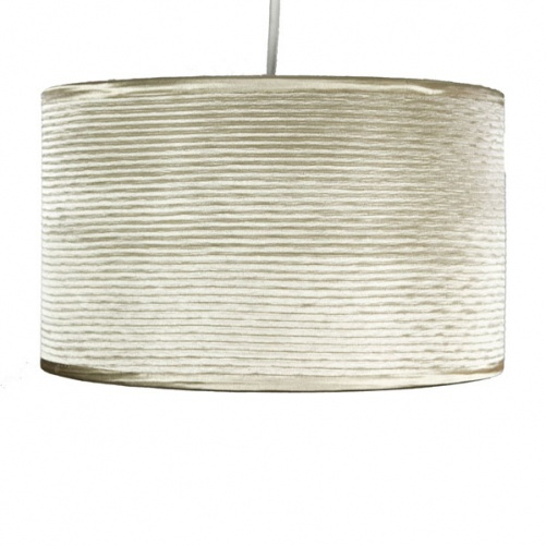 Ripple Cylinder Pendant, Ceiling Lights, Dunelm (Soft