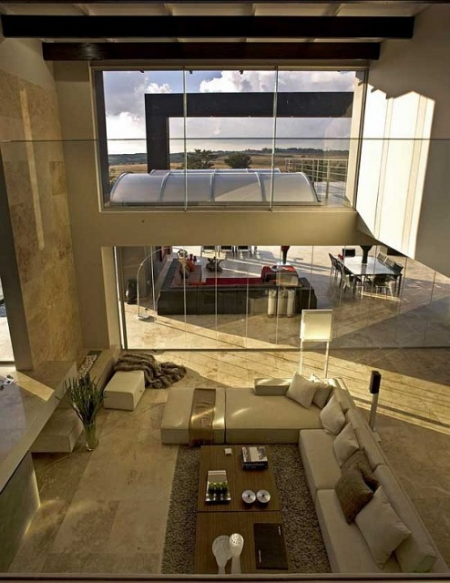 Contemporary Breathtaking House in Johannesburg_image