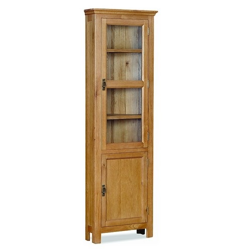 Corner Dining Room Cabinet: Lincoln Corner Cabinet, Dining Room Furniture, Pine