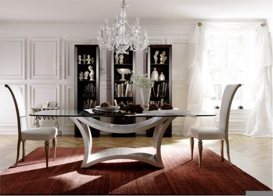 Contemporary Glass Dining Tables _image