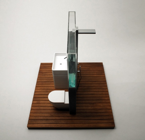 Modern BRS Shower Lets You See Where Water Comes From_image