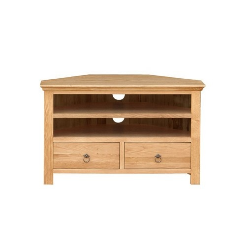 Quebec Large Corner Tv Stand TV Tables Pine Solutions