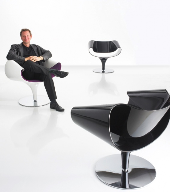Designer Lounge Chairs - modern swivel chair by Zuco_image