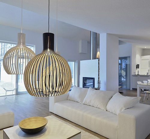 Scandinavian Pendant Lights - Octo Pendants by Secto Design_image