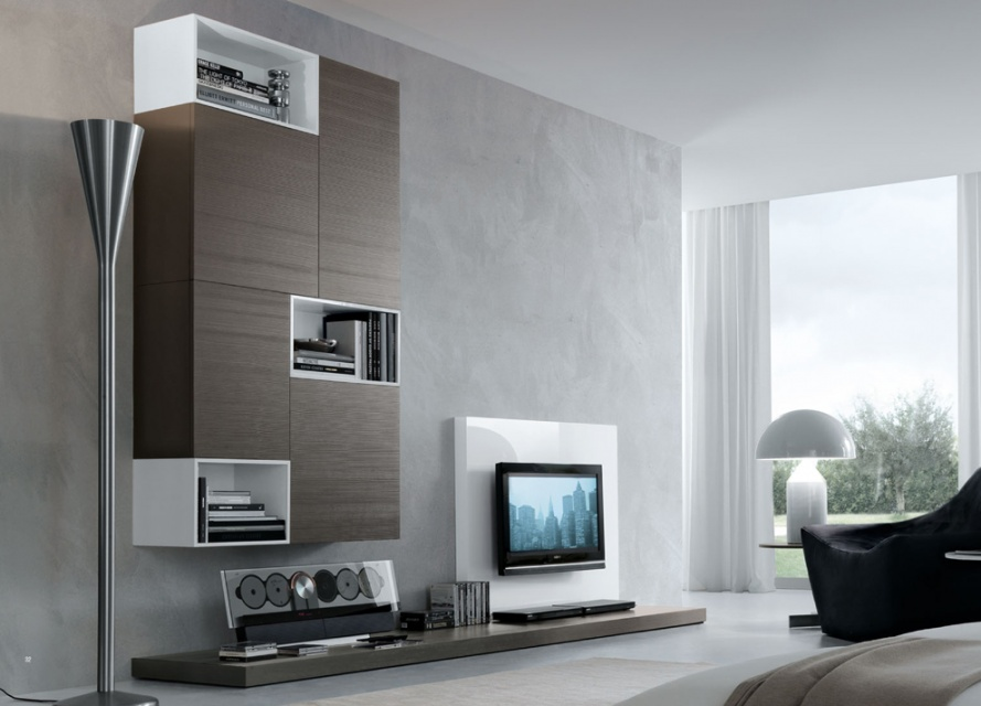 Jesse Open Wall Unit Composition R57 Wall Storage