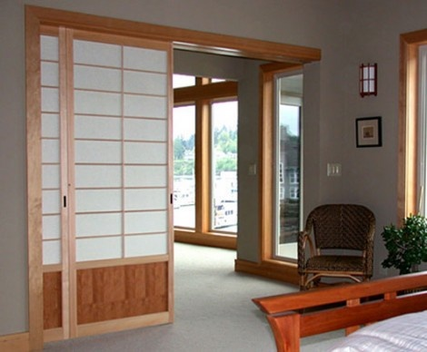 Modern Japanese Sliding Doors from Shoji Design Adds a Touch of Asia to Your Home_image