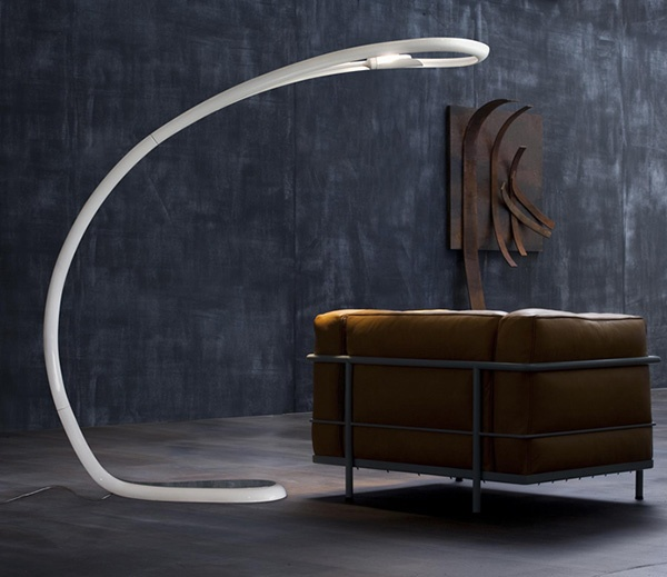 Arched Floor Lamp by Lucente - Semjase_image
