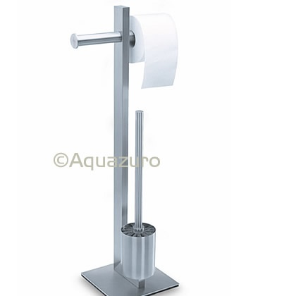 Zack Fresco Stainless Steel Toilet Roll Brush Butl Toilet Roll Holders Aquazuro Limited