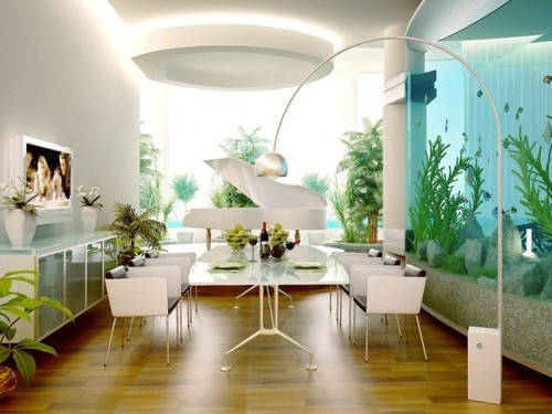 Modern Dining Room Design Ideas_image