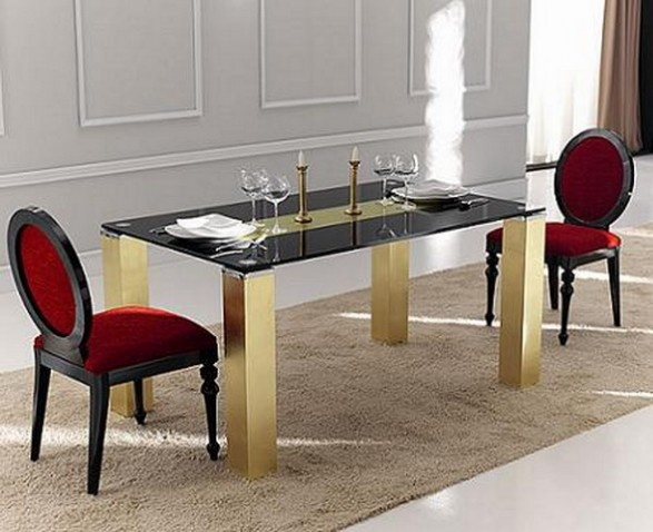 Very Chic Dining Room and Tables Design_image