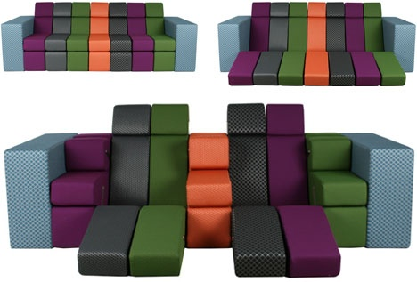 Combo Couch: All-in-One Lounger by Zuiver_image