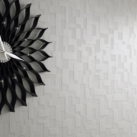 Modern Monochromatic Wallpapers With 3D Effect_image