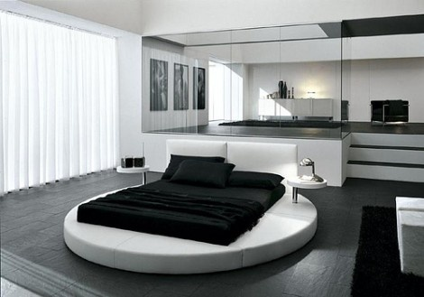 Circular Bed for Changing Trends Presotto Zero Bed_image