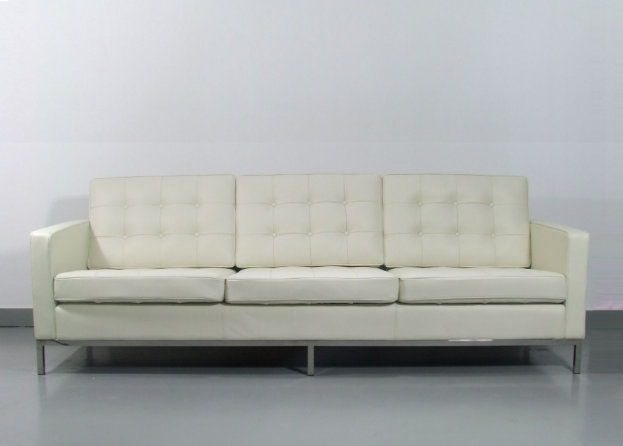florence knoll sofa 3 seat loveseats sofa go modern. Black Bedroom Furniture Sets. Home Design Ideas