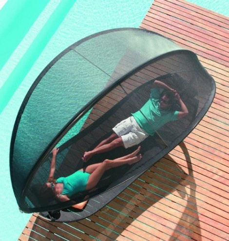 Two Person Sun Lounger by Royal Bonita is for Relaxing Days in the Sun_image