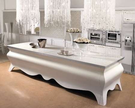 Stylish Papillon Kitchen Island By Brummel_image