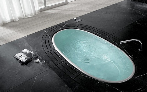 Sorgente Tub – High Tech Designers Bathtub_image