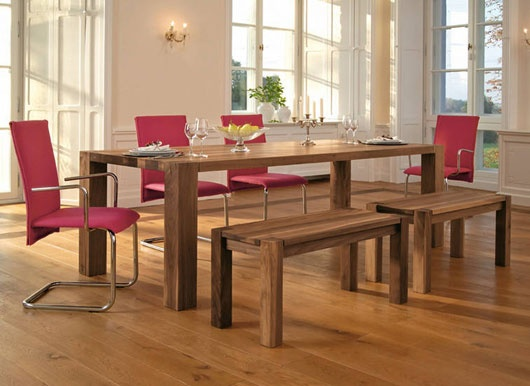 Minimalist Solid Wood Dining Table by Rodam_image