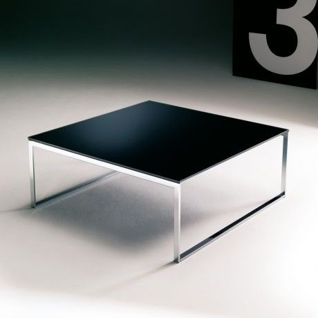 Hip Hop Square Low Glass Coffee Table Coffee Tables