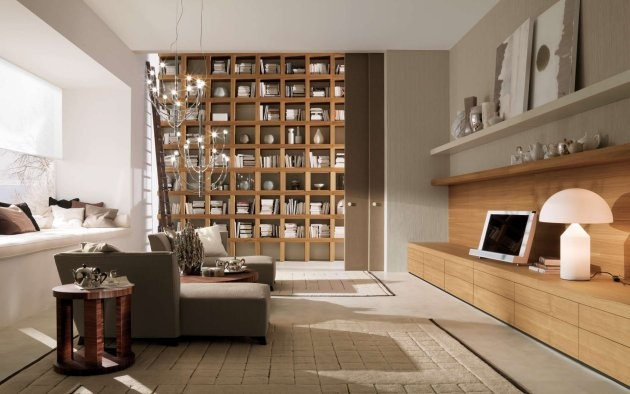 Modern Living Rooms Made by the Italian Company Mobileffe_image