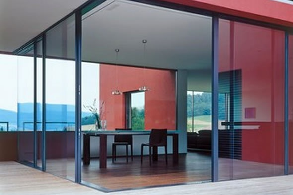 Architectural Glass : Sky Frame Insulated Sliding Windows_image