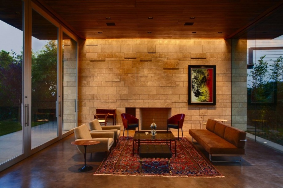 Stone and Brick Walls in Your Living Room_image