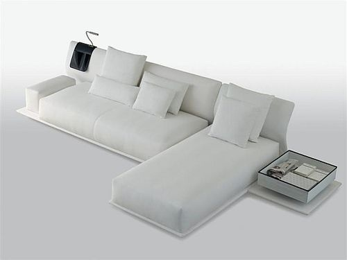 Beautiful Living Sofa Can Be Transformed Into a Real Bed_image
