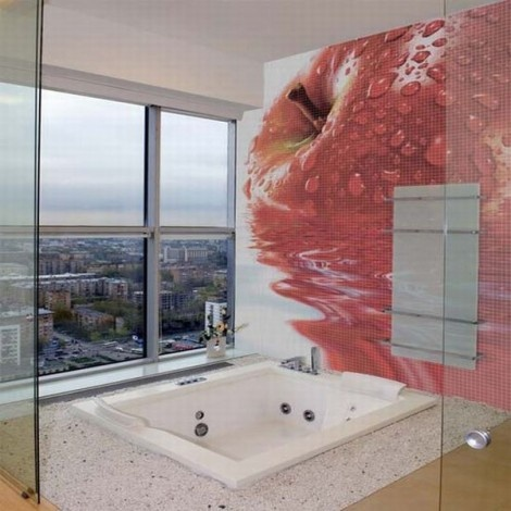 Mosaic Bathroom Tiles by Glass Decor_image