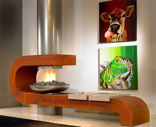 Modern Contemporary Fireplaces by Modus Design_image