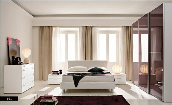 Strikingly Beautiful Modern Style Bedrooms_image