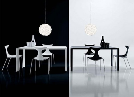 Slim Dining Room Furniture by Meneghello Paolelli is Stunning_image