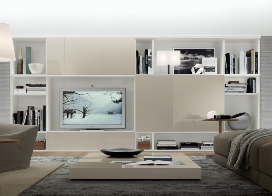 Go Modern Furniture. £5,830.00. Jesse Open Wall Unit Composition R54  _main_image