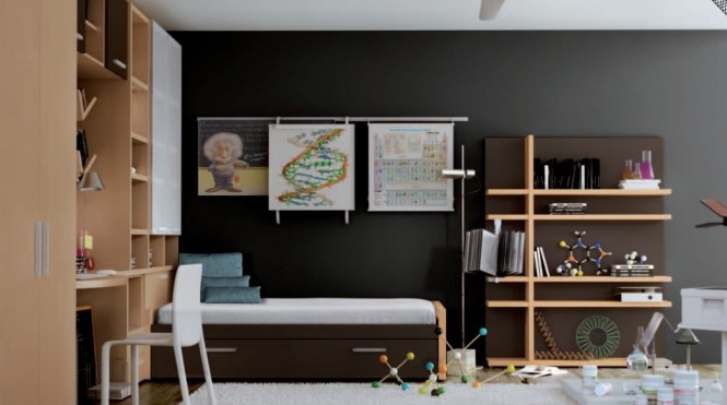 Themed Teen Rooms by Carre and Hulsta_image